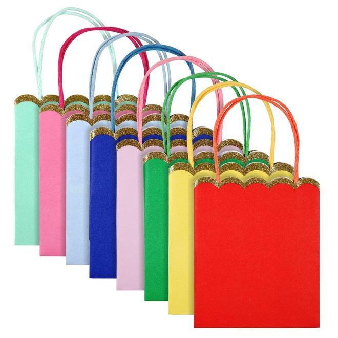 Happy Birthday Party Bags (8 pack)