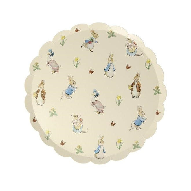 Peter Rabbit & Friends Plates (12 pack)