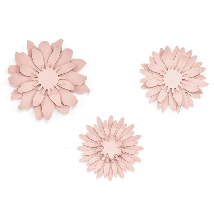 Powder Pink Flowers (3 sizes)