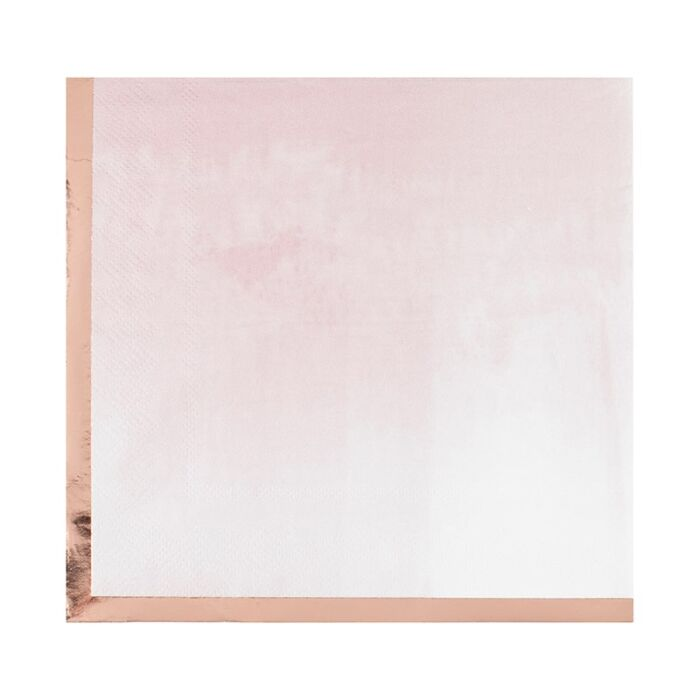 Pink Watercolour Napkins (16 pack)