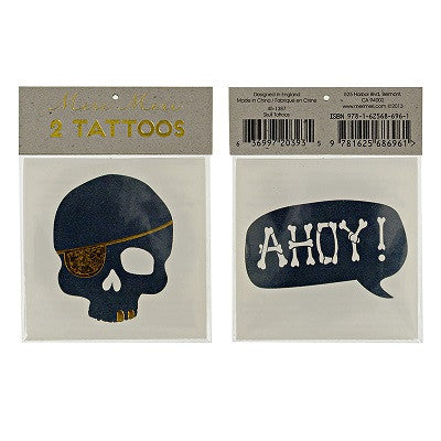Pirate Tattoos (2 pack)
