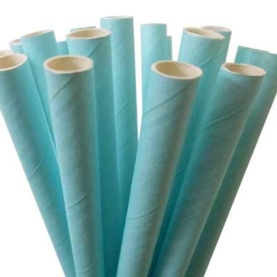 Pale Blue Straws (25 pack)