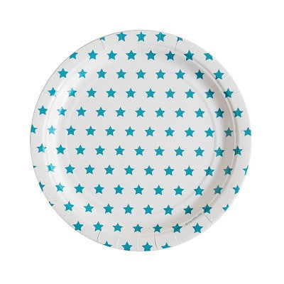 Blue Star Plates (8 pack)
