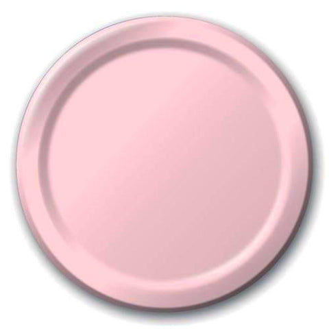 Pale Pink Plates (24 pack)