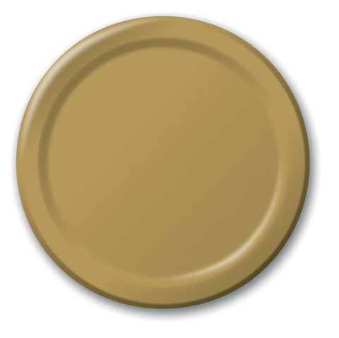 Glittering Gold Plates (24 pack)