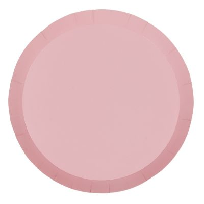 Pastel Pink Dinner Plates (10 pack)