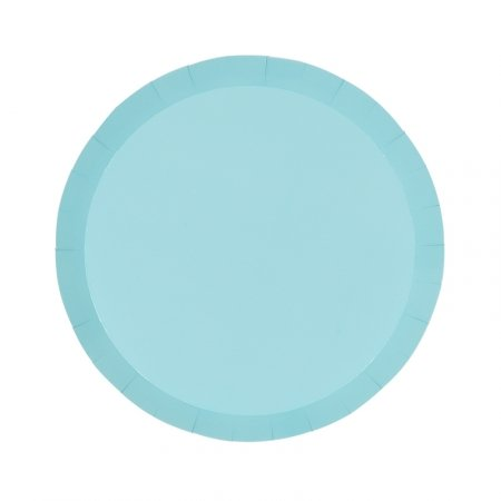 Pastel Blue Small Plates (10 pack)