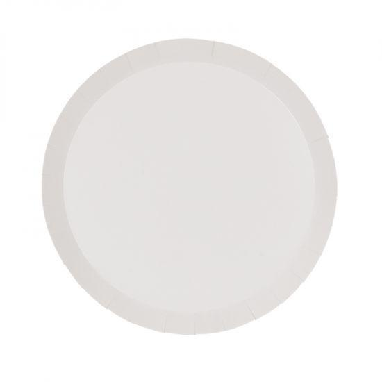 White Small Plates (10 pack)