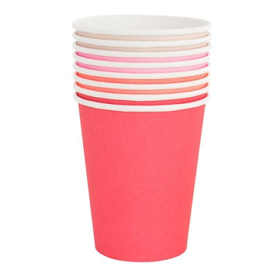 Pretty in Pink Cups (8 pack)