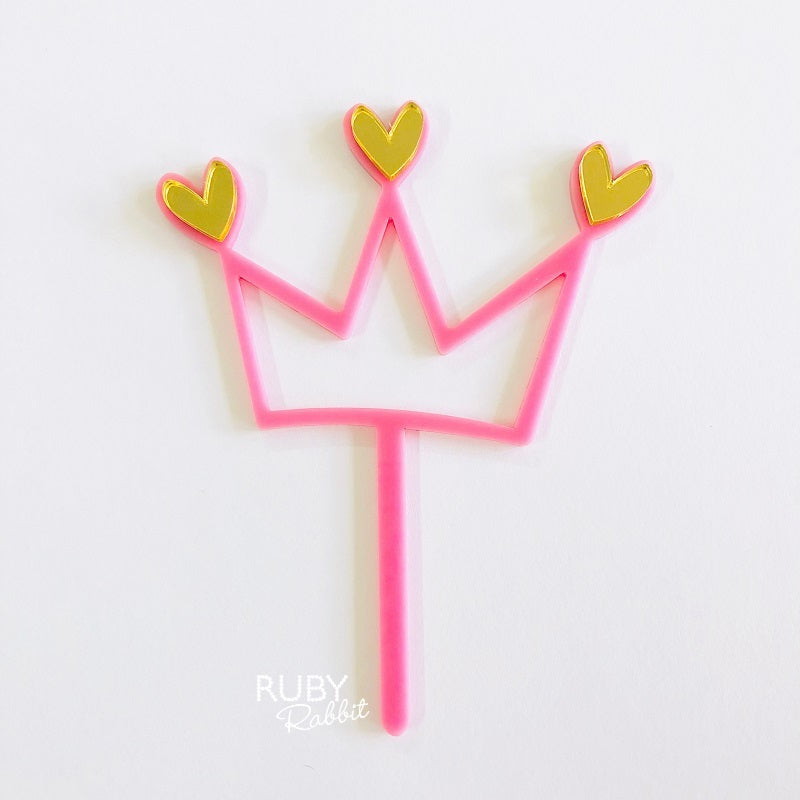 Queen of Hearts Cake Topper