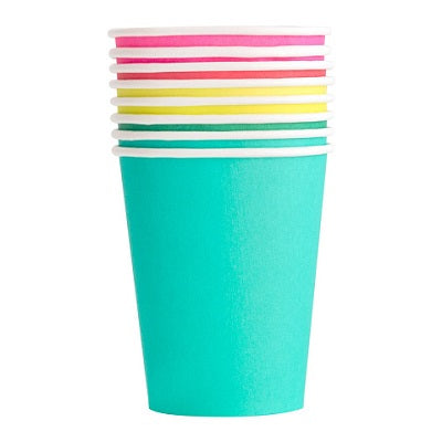 Rainbow Assorted Cups (8 pack)