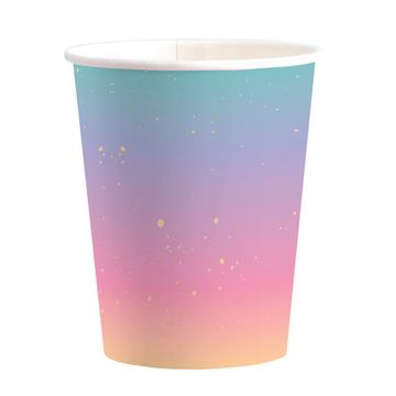 Rainbow Ombre Cups (8 pack)
