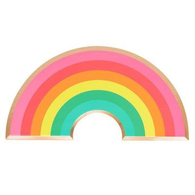 Rainbow Shape Plates (8 pack)