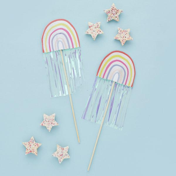 Rainbow Wands (5 pack)