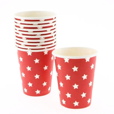 Red Star Cups (12 pack)