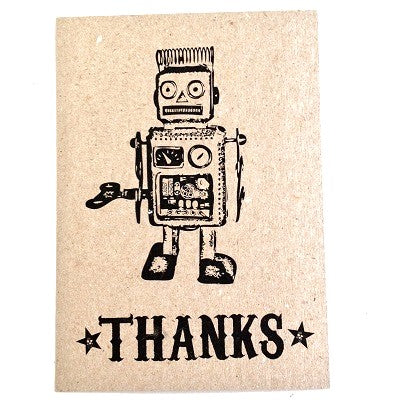 Robot Thankyou Cards (10 pack)