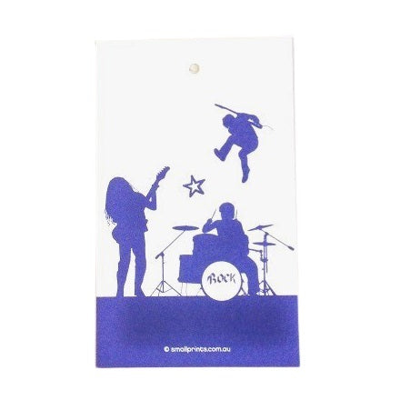 Rock On Party Bag Tags (10 pack)