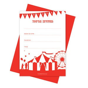 Roll Up Party Invitations (10 pack)