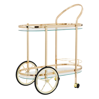 Cocktail Cart in Rose Gold *PRE-ORDER*
