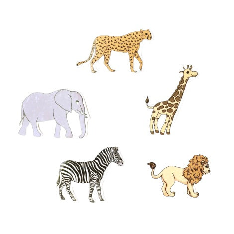 Safari Animal Sticker Set (5 pack)