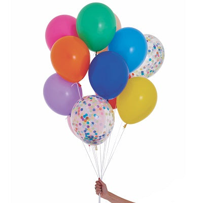 Happy Balloon Set (12 pack)