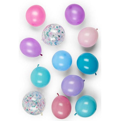 Unicorn Balloon Set (12 pack)