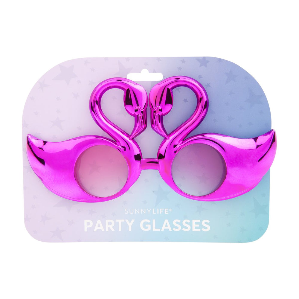 Flamingo Party Glasses