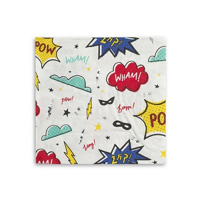Superhero Napkins (16 pack)