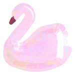 Pink Iridescent Swan Plates (8 pack)