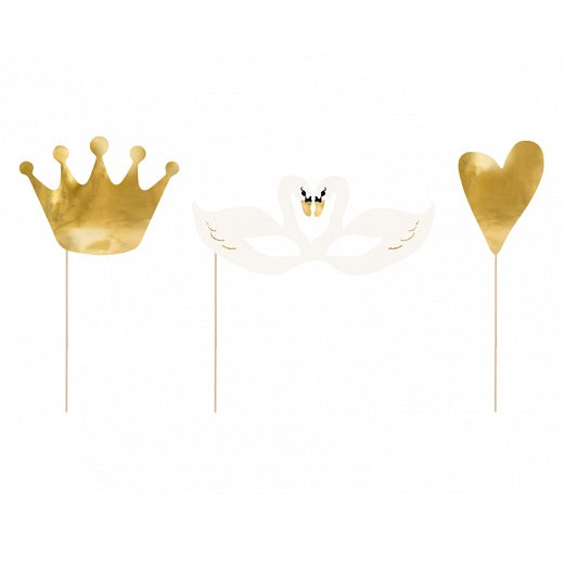 Lovely Swan Photo Props (3 pack)