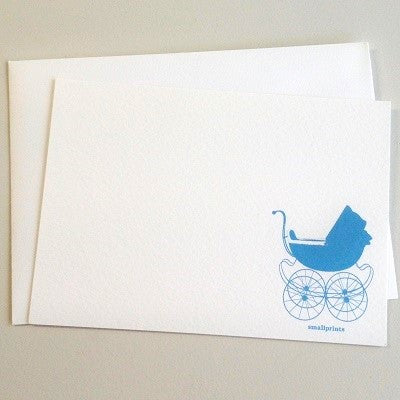 Sweet Carriage Thankyou Cards (10 pack)