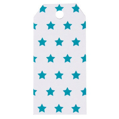 Blue Star Party Bag Tags (12 pack)