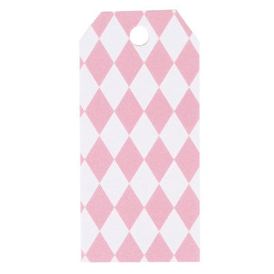 Pink Diamond Party Bag Tags (12 pack)