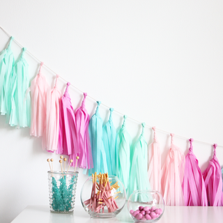 Candy Shoppe Tassel Garland Kit
