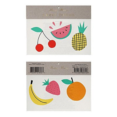 Fruit Tattoos (2 pack)