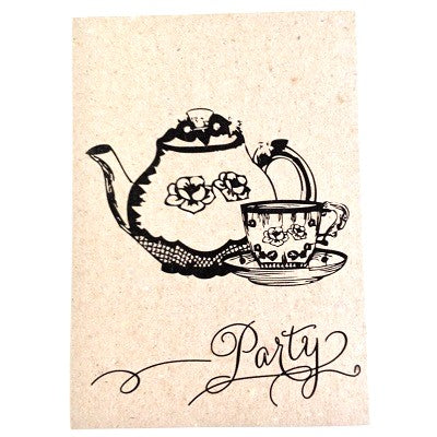 Cup of Tea Party Invitations (10 pack)