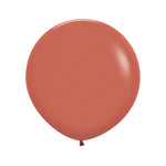 Terracotta 60cm Round Balloon
