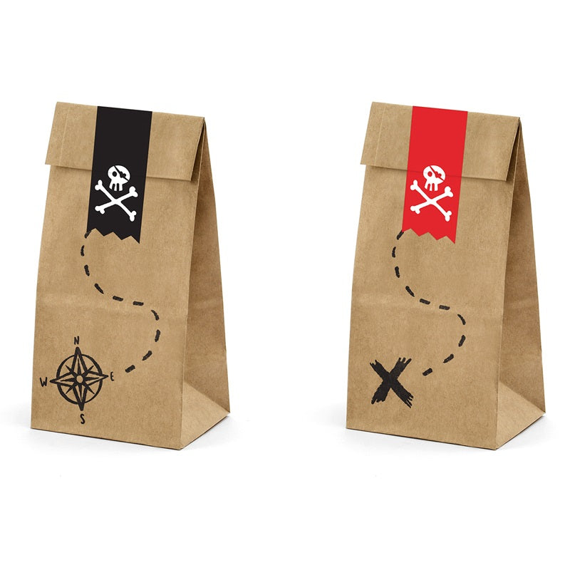 Pirate Treat Bags (6 pack)