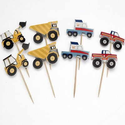 Truck Cupcake Toppers (8 pack)