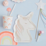 Unicorn Plates (8 pack)