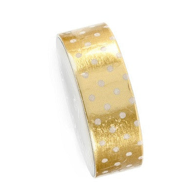 Gold Dot Washi Tape (10m)