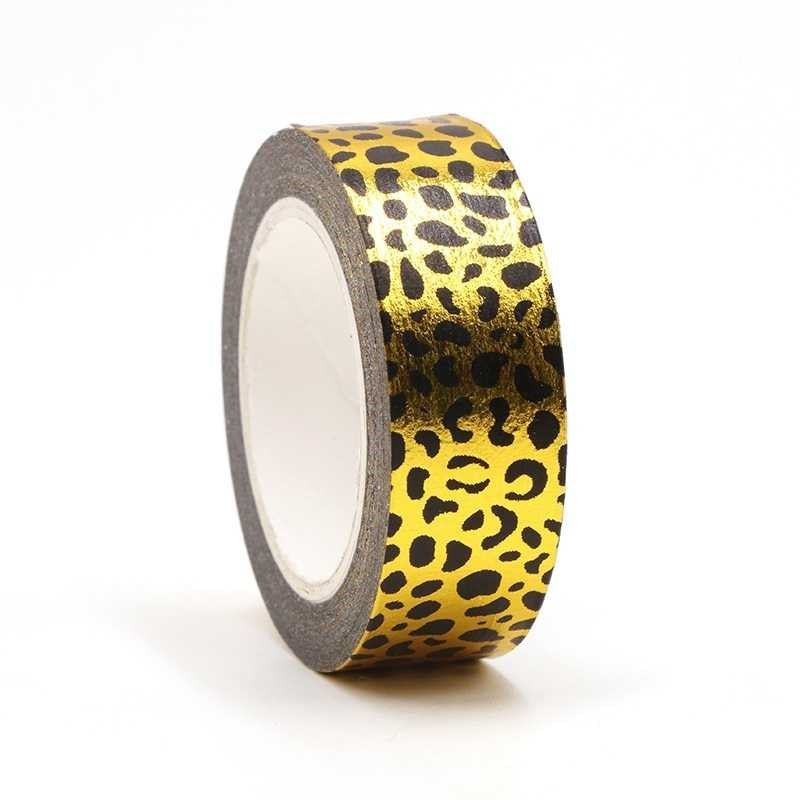 Gold Leopard Washi Tape (10m)