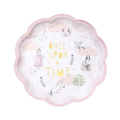 We Heart Fairytale Plates (12 pack)
