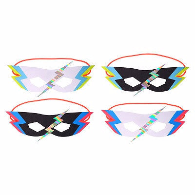 Zap Party Masks (8 pack)
