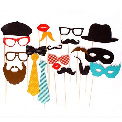 Photo Booth Props - Party (20 pack)