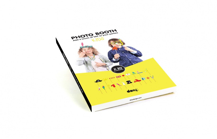 Photo Booth Props - Kids (20 pack)