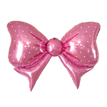 Giant Pink Bow Balloon