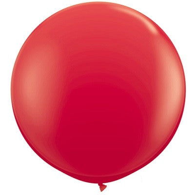 Red Giant 90cm Round Balloon
