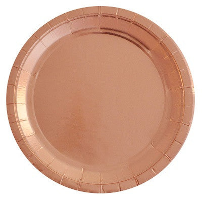 Rose Gold Plates (10 pack)