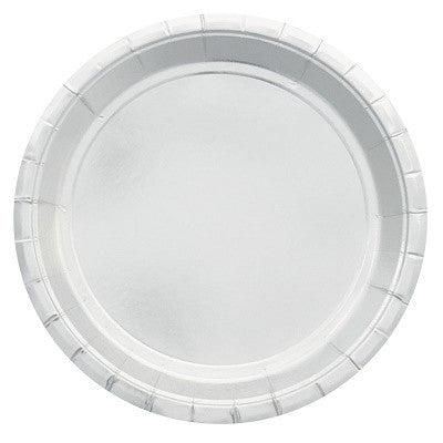 Silver Foil Plates (10 pack)